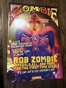 Metal Hammer Magazine Promo Insert Rob Zombie The Lords Of Salem Poster