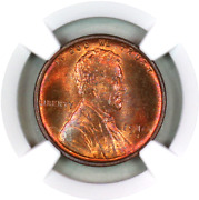 1910-s Ms64+ Rb Ngc Lincoln Wheat Penny Registry Quality Collection