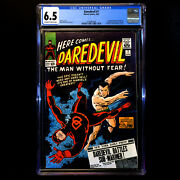 Daredevil 7 🔥 1st Appearance In Red Costume And Sub-mariner 🔥cgc 6.5 - Ow/white