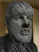 11 Wolfman 1941 Bust Statue Life Size No Sideshow Or Queen Studio Unique Propandnbsp