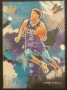 2020-21 Panini Court Kings Level 3 163 Lamelo Ball Rc Rookie Card Ssp Hornets