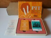 Vintage 1964 Pit The World's Liveliest Trading Card Game Parker Brothers - 1964