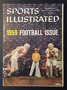 Virginia Tech 1959 Ncaa Football Preview Sports Illustrated No Label Newsstand