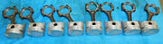 70-74 Ford Mustang Pantera Mercury Cougar Nos 351c 020 Pistons And Connecting Rods