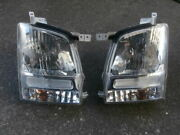 H16 Mh21 Wagon Genuine Halogen Headlights Left And Right Sets Coit 100-59054