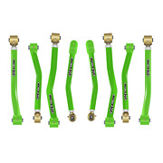 Core 4x4 Adjustable Control Arms Tier 4 Complete Set Fits Jl - Light Green