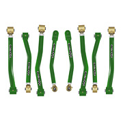 Core 4x4 Adjustable Control Arms Tier 4 Complete Set Fits Jl - Green