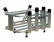 Brocraft Jet Ski Aluminum Fishing Rod Rack And Cooler Holder Combo With With Gas P
