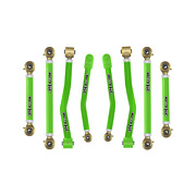 Core 4x4 Adjustable Control Arms Tier 4 Complete Set Fits Jt - Light Green