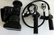Canon Bctv Zoom Lens + Lens Adapter For The 1/2 + Canon Ms-15m Economical Zoom
