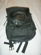 Army National Guard - Black Tactical Backpack Computer Laptop Bag Leather C14