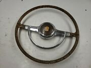 1941 Cadillac Steering Wheel And Horn Ring