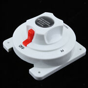 Universal Marine Boat Rv Dual Battery Isolator Selector Switch - 4 Positions