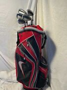 New With Tags Men's Nike Coca-cola Special 14 Way Cart Style Golf Bag 7 Pockets