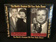 40s 50s Vtg Radio Stories Philco Time Talk Show Old Ozzie Harriet And Detective