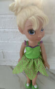 Disney Fairies 14 Tinker Bell Toddler Doll -no Wings