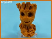 S.yanik Meerschaum Pipe Marvel Character I'm Groot Glass Eyes Fitted Case Sck137