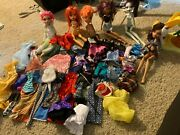 Monster High Doll And Clothes Lot Used