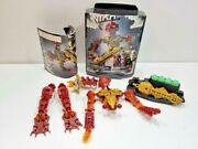 Lego Bionicle Toa Inika 8727 Toa Jaller W/ Canister And Instructions
