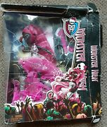 2013 Monster High - Catty Noir Doll - Nrfb Box Is Damaged