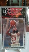 Andnbspscottie Pippen Mint Only A Few Exist In The World Graded 1996 Skybox Premium