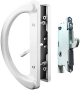 Patio Door Handle Set + Mortise Lock 45° Perfect Replacement For Sliding Glass