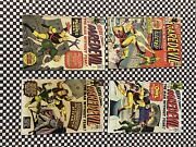 Daredevil Comics 1964 2,3,4,6 Black And Yellow Suit. Acceptable Condition.