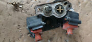 1980-81 Mercury Marine Model 40 Hp 2 Cyl Outboard Coils And Bracket