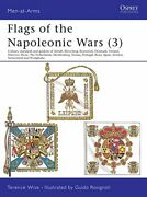 Flags Of The Napoleonic Wars 3 Men-at-arms Series By Wise, Terence Paper…