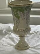 Lenox Wisteria Trellis Limited Edition 16 Inch Vase New In Box With Coa
