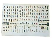 Lot Of 168+ Vintage O Scale Plasticville People,signs,animals,accessories,more