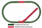 Lionel - Siding Track Add-on Ft Pack - 6-12044