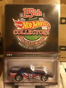 Hot Wheels 2015 15th Nationals Finale 76 Greenwood Corvette Real Riders. Read