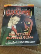 Clock Tower 2 The Struggle Within Official Survival Guide Strategy Book Rare