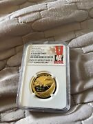 2020 End Of World War Ii 75th Anniversary W 25 Gold Medal Pf70 Ultra Cameo Free