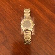 Ebel Women's Classic Wave Watch Stainless Steel With Diamond Accent