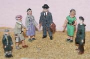 6 1950 On Standing F52p Painted Oo Scale Langley Models People Figures 1/76