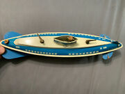 Vintage Wolverine Supply And Mfg Co Pittsburgh Pa Wind-up Metal Tin Submarine Toy