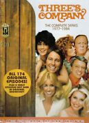 Threeand039s Company The Complete Series 29 Dvd Box Set Brand New Free Shipping