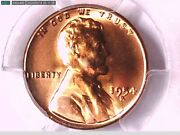 1954 S Lincoln Wheat Cent Pcgs Ms 66 Rd 32689757 Video
