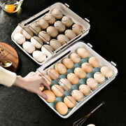 Egg Holder Refrigerator Cabinet Egg Tray Container Fresh Boxes Space Saver