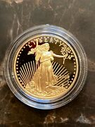 2008 W Gold Eagle Proof Coin 25 Dollar 1/2 Ounce Us West Point Mint Low Pop