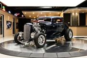 1932 Ford 3-window Coupe Street Rod Hot Rod Supercharged 383ci Stroker V8, Th350 Automatic, Ford 9in Posi, Disc, Pw