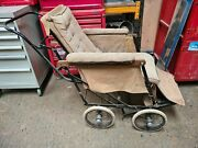 Vintage Antique Allwin Medical Wheelchair 1930and039s