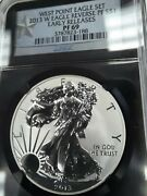 2013 W Pf69 Reverse Proof Silver Eagle Ngc Early Releases Black Retro Free Ship