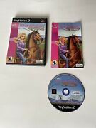 Barbie Horse Adventures Wild Horse Rescue Playstation 2 Ps2 Complete