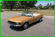 1970 Ford Mustang Rare Color 302 V8 Disc Brakes 1970 Ford Mustang Convertible 302 V8 Automatictransmission