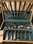 Vintage Lot Of 58 Pieces Of Community Plate Silverware