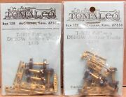 Tomalco T-1022 Hon3 4and039 8 Dandrgw Arch-bar Freight Car Trucks 4 Brass Nos