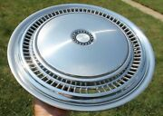 One Dodge Truck 3/4 Ton - 1/2 Ton 15 Hubcap And 16 Adapter Reducing Ring Oem